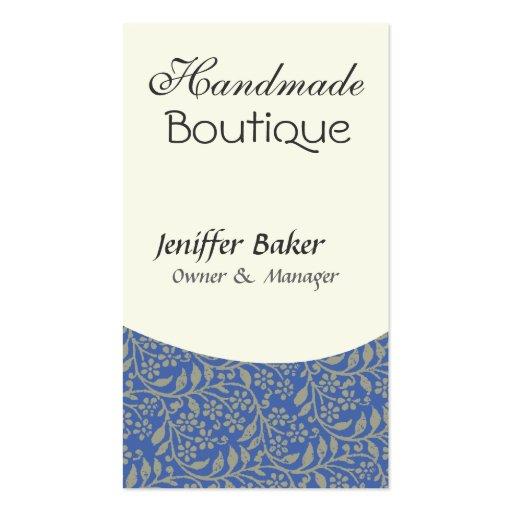 Elegant  Design  Jack of All Trades Blue Business Cards