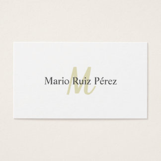 Elegant design Modern Minimalist Target Business Card