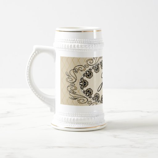 Elegant design coffee mug
