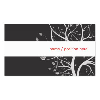 elegant design pack of standard business cards