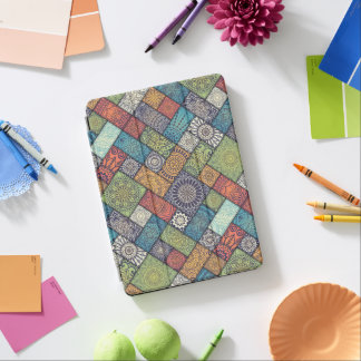 Elegant Diagonal Floral Tiles | Ipad Air Case iPad Air Cover