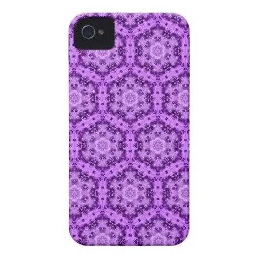 Elegant Edwardinan Purple Damas  - Blackberry case