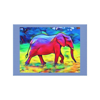 Elegant Elephant Canvas Print