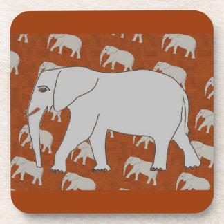 Elegant Elephant Coasters! Drink Coaster