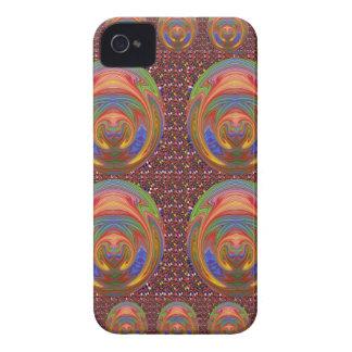 Elegant Embossed 3D decoration Stamp Emblem fun iPhone 4 Case-Mate Cases