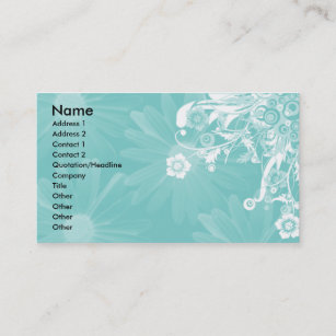 Emerald green business cards zazzle au elegant emerald green floral business card reheart Gallery