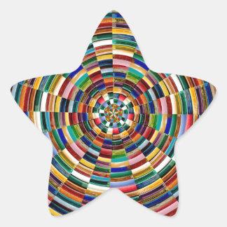 Elegant Energy Chakra TEMPLATE add TXT image GIFTS Star Sticker