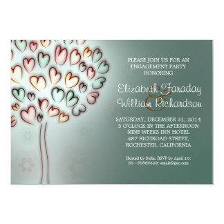 elegant engagement party invitations