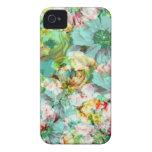 Elegant English Flower iPhone 4 Case-Mate Cases