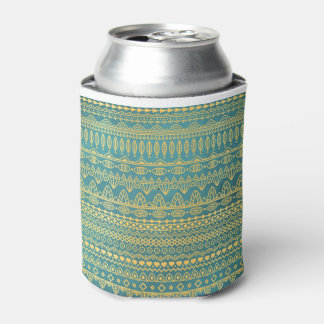 Elegant Ethnic Golden Pattern | Can Cooler