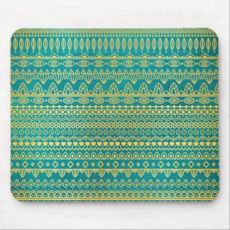 Elegant Ethnic Golden Pattern   Mousepad