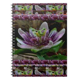 Elegant EXOTIC flower Template DIY Gifts floral Notebooks