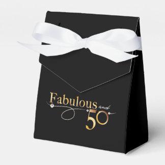 Elegant Fabulous and 50 Favour Box