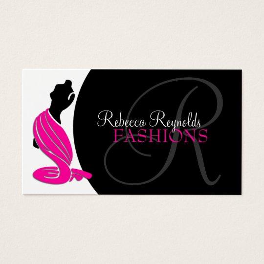 Elegant Fashion Designer Business Cards