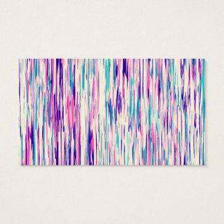 Elegant Feminine Abstract Brushstrokes Business Card
