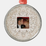 Elegant First Christmas Together Personalise Photo