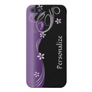 Elegant Floral | Amethyst | DIY Name Case For The iPhone 5
