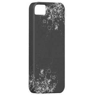 Elegant Floral B/W iPhone 5 Cases