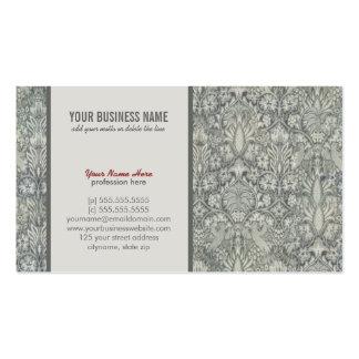 Elegant, floral, baroque Business Card