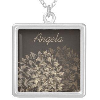 Elegant Floral Bridal Party Gift Necklace