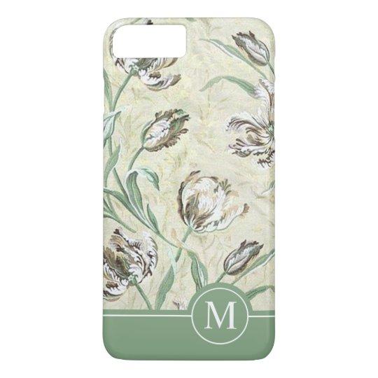 Elegant Floral Design Monogram | Phone Case