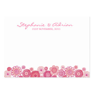 Elegant Floral Engagement Thank You Gift Cards Business Card Template