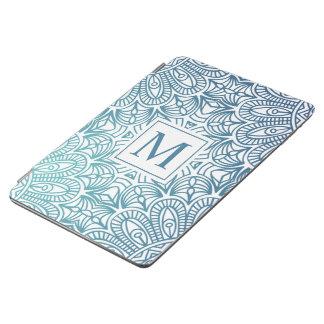 Elegant  Floral Mandala Monogram | Ipad Air Case iPad Air Cover
