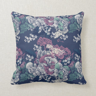 Elegant Floral Pattern Cushion