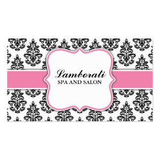 Elegant Floral Pattern Wedding Planner Stylist Pack Of Standard Business Cards