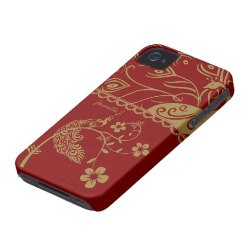 Elegant Floral Peacock Blackberry Bold 9700/9780 Blackberry Bold Covers