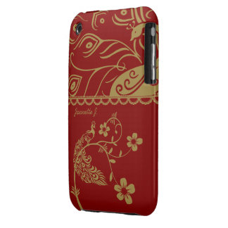 Elegant Floral Peacock iPhone 3G/3GS Cover Case-Mate iPhone 3 Cases