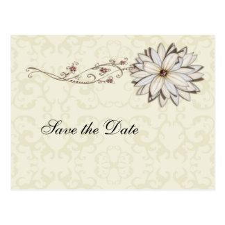 Elegant Floral Special Occasion Design Postcard