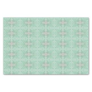 Elegant Floral Tissue Paper Delicate Green
