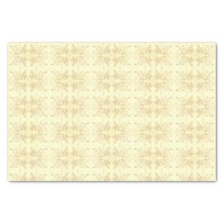Elegant Floral Tissue Paper Delicate Sepia