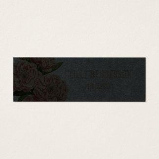 Elegant floral trendy vintage business card