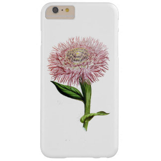 ELEGANT FLORAL VINTAGE PINK FLORAL BARELY THERE iPhone 6 PLUS CASE
