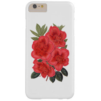 ELEGANT FLORAL VINTAGE RED FLOWERS BARELY THERE iPhone 6 PLUS CASE