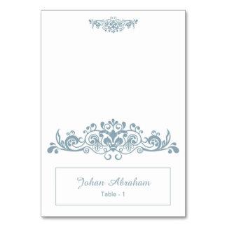 Elegant Floral Wedding Place Card