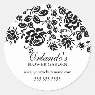 Elegant Florals Stickers
