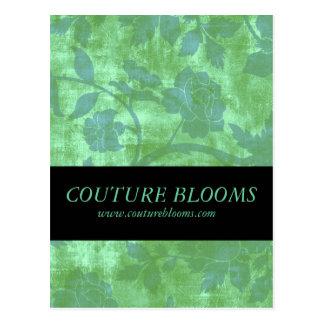 Elegant Florist Business Opening Announcement Card Postcard
