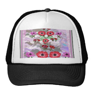 Elegant Flower Display on Gifts for all occasions Cap