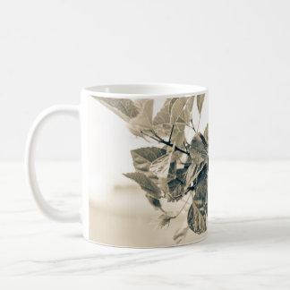 Elegant Flower on Branch Mug