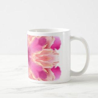 elegant flower peach pink white by healing love mugs