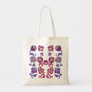 Elegant Flowers Budget Tote Canvas Bag