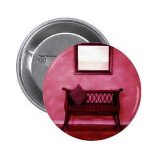 Elegant Foyer Settee Seat Mirror Interior Design 6 Cm Round Badge