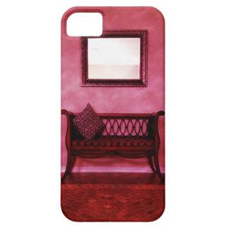 Elegant Foyer Settee Seat Mirror Interior Design iPhone 5 Covers