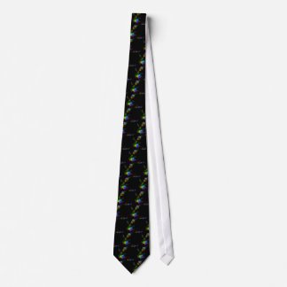 Elegant Fractal Art Tie