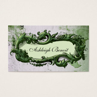 Elegant Frame Business Card