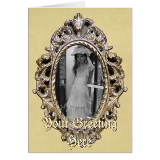 Elegant Frame Greeting Card