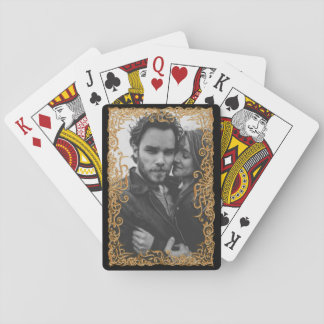 Elegant Frame With Photo Playing Cards